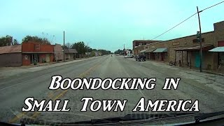 Boondocking in Small Town America Van Life On the Road | Kholo.pk