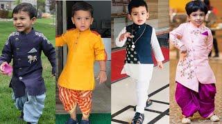 Amazing Dhoti Kurta Sets For Small Boys    Latest Fashion Of Boys Ethnic Dress