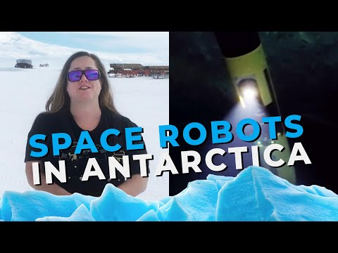 Space Robots in Antarctica - The Planetary Post with Robert Picardo