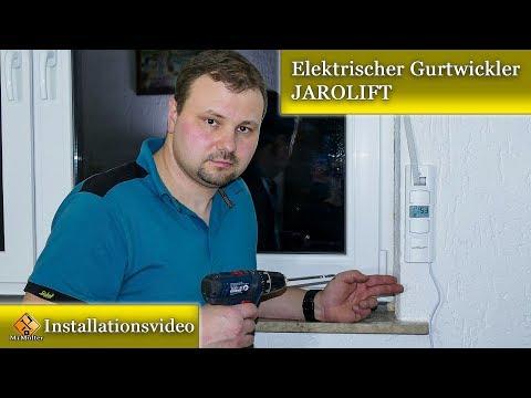 Montageanleitung Elektrischer Gurtwickler JAROLIFT - JAROMAT Pro UP