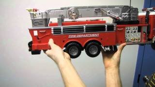 Arctic Hobby Land Rider 503 RC Firetruck Unboxing & First Look Linus Tech Tips