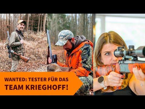 Neue Tester für das Team Krieghoff gesucht! Bewerben Sie sich jetzt und testen Sie eine Krieghoff-Waffe für 6 Monate!