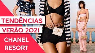 TENDÊNCIAS VERÃO 2021 - DESFILE CHANEL RESORT! - Adriana Alfaro - Fashion Frisson