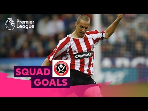 Sensational Sheffield United Goals | Deane Stead Jagielka | Squad Goals