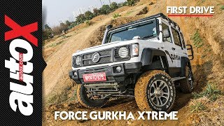 2018 Force Gurkha Xtreme Video Review - Offroad Test | autoX