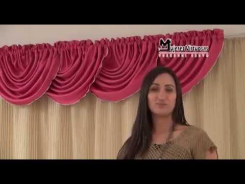 Como Hacer una Cenefa Globo Entubado-Ondas Corridas 4/7 por Yuruanni Bravo