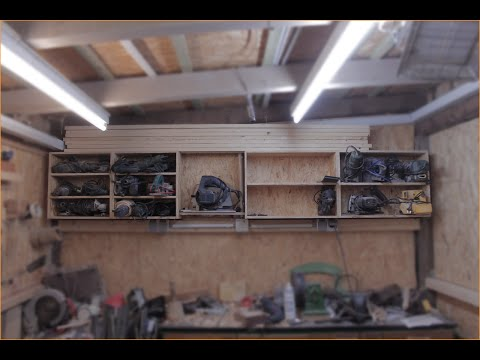 Werkstatt-Regal bauen [Teil 1]