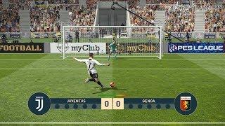 JUVENTUS vs GENOA | Penalty Shootout | PES 2019 Gameplay PC