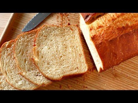 Pan de molde para sandwiches y tostadas ¡FÁCIL! ★
