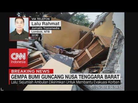 Breaking News! Gempa Bumi Guncang Bali & NTB