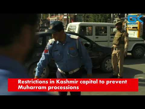 Restrictions in Kashmir capital to prevent Muharram processions