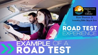 Thumbnail image of YouTube video for Example of a Road Test video