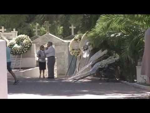 Το τελευταίο αντίο στην Ρίκα Βαγιάννη