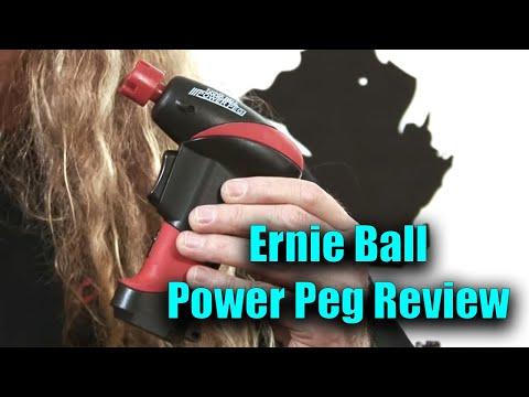 Free Guitar Lessons - Ernie Ball Power Peg Review