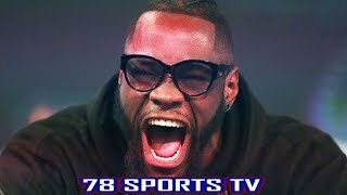 EXCLUSIVE!!! DEONTAY WILDER REACTS TO ANTHONY JOSHUA GETTING KNOCKED OUT WITH 78SPORTSTV