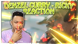 Denzel Curry   RICKY Reaction Video EXCEPT I Prefer Jerk