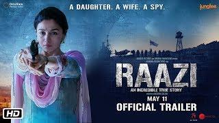 Raazi Trailer | Alia Bhatt | Vicky Kaushal | Meghna Gulzar