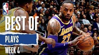 NBA's Best Plays From Week 4 | 2019-20 NBA Season