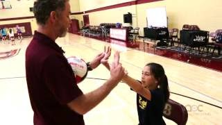 AVCA Video Tip Of The Week: Chair Drill To Improve Setting Technique