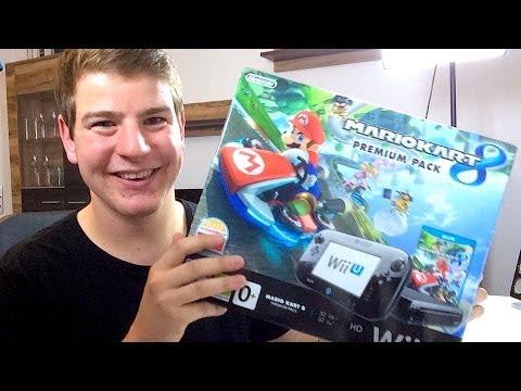 MarioKart 8 Premium Pack UNBOXING! (mit Wii U Konsole) - felixba