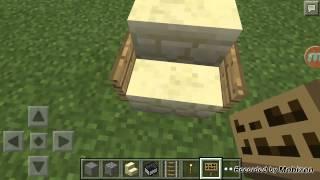 Minecraft Pe วิธี นั่ง เก้าอี้