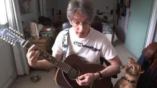Guitar lesson 015G-Late Again