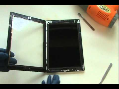 iPad 3 Glass Repair Tutorial Replace Cracked Screen | GadgetMenders.com