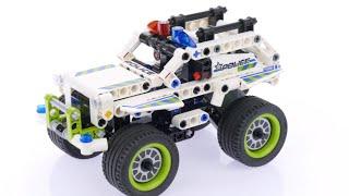 Обзор конструктора LEGO 42047 Полицейский патруль