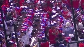 有田工業 2013年夏 高校野球 アルプススタンド 大応援団