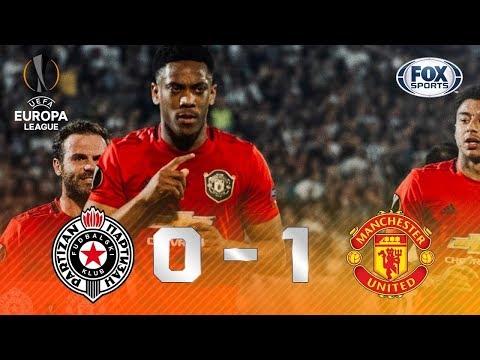 ENDIABRADOS NA SÉRVIA! Manchester United supera Partizan na Europa League