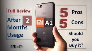 Mi A1 Full Review After 2 Months Usage   Gaming, Camera, Battery, Pros and Cons