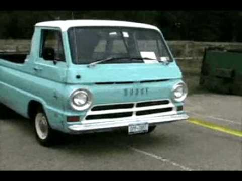 Download Dodge A100 pickup truck HD Mp4 3GP Video and MP3