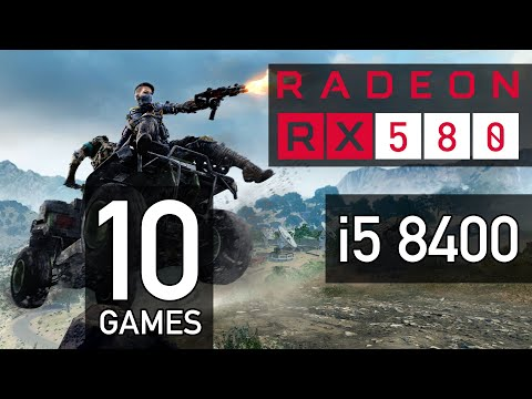 Intel i5 8400 + XFX RX 580 8GB GTS - 1080p ULTRA settings Benchmarks - 10 Games Tested