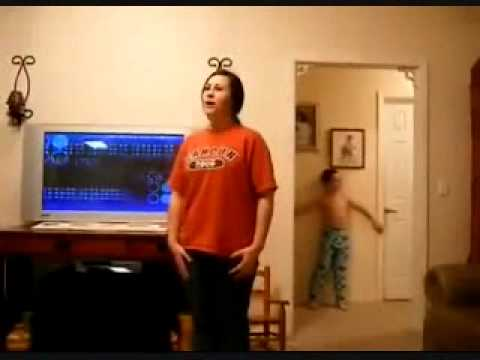 Little Brother Video Bombs Sisters Dance Video