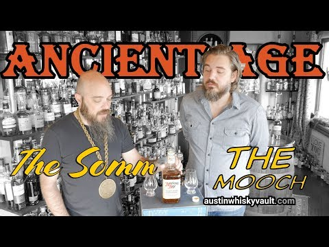 Whiskey Review – Ancient Age Bourbon with Rock Hill Farms Single Barrel Bourbon Comparison