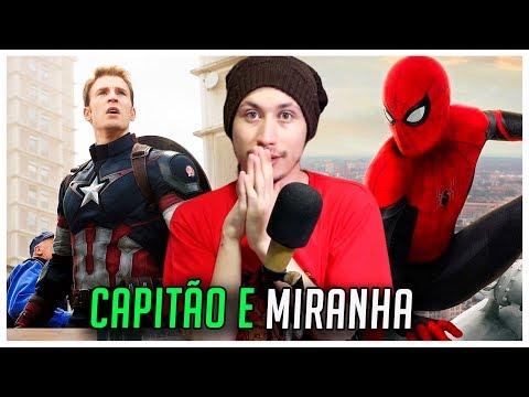 REAGINDO AOS RAPS DO CAPITÃO AMÉRICA E DO HOMEM-ARANHA (7 Minutoz)