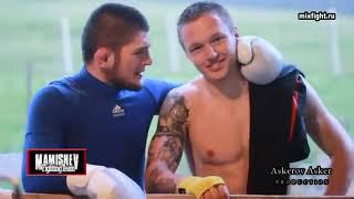 Training Khabib Nurmagomedov  Training in Dagestan