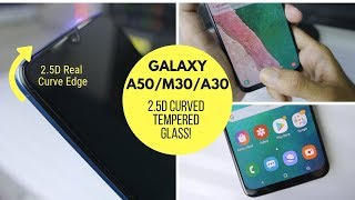 Protect Your Galaxy A50's Display! Best Curved Tempered Glass for Galaxy A50/M30/A30