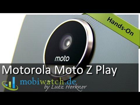 Motorola Moto Z Play: Test-Ergebnisse, Vergleich & Game-Check   Hands-on-Video