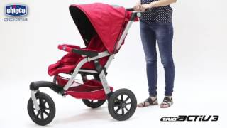 Коляска 3 в 1 Chicco Trio Activ 3 Top в интернет магазине bebe-market.com.ua и bebe-store.com.ua!