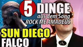 SUN DIEGO & FALCO: ROCK ME AMADEUS - 5 DINGE, die mir aufgefallen sind -haiblubbblubb 2018