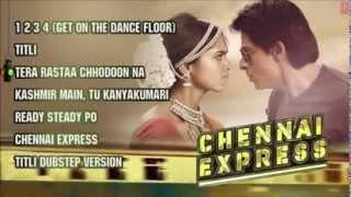 Gambar cover Tera Rasta Chhodoonga Na FULL SONG)   Chennai Express Movie 2013   Shahrukh Khan  Deepika Padukone