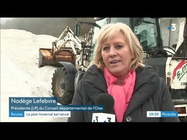Plan de Viabilité Hivernale : le Conseil départemental de l'Oise vous protège