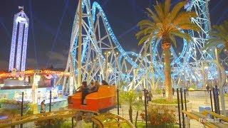 Coast Rider - A Wild Mouse Roller Coaster POV - Knott