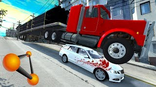 СПУСК СМЕРТИ В SAN FRANCISCO | BeamNG.drive