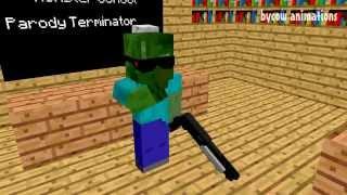 Minecraft Мультики - Школа монстров: Кастинг на фильм (Майнкрафт Анимация)