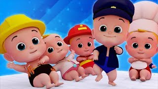 Five Little Babies   Nursery Rhymes   Songs For Kids   Children Rhyme By Junior Squad