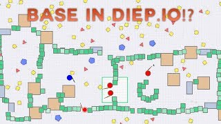 A HUGE BASE IN DIEP.IO!?!? | NEW .io game | Battl.io Funny Moments/Trolling