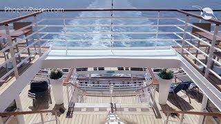 MS Artania: Pool- und Außenbereiche