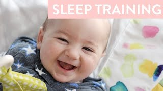 Sleep Training | How I Sleep Trained Connor at 4 Months Old